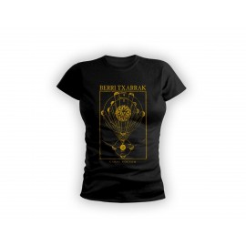 CARPE NOCTEM girly t-shirt BLACK