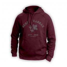 BACK TO SCHOOL sudadera granate