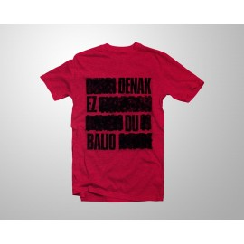DENAK RED t-shirt