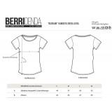 IKUSI ARTE 'girly' FITTED T-shirt (BLACK)