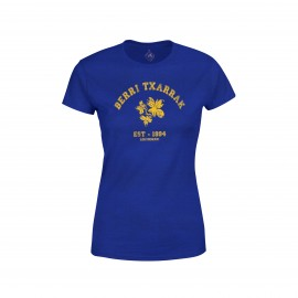 BACKT TO SCHOOL - NAVY BLUE 'Girly' fitted T-shirt