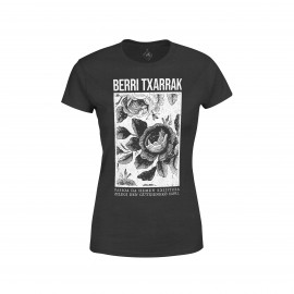 "'PASSION' black ""girly"" t-shirt"