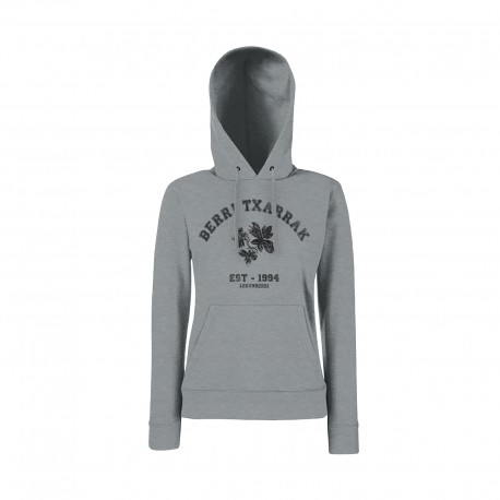Hoodie BACK TO SCHOOL (gray) FITTED